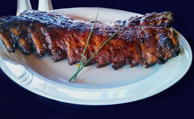 Spareribs all you can eat!
